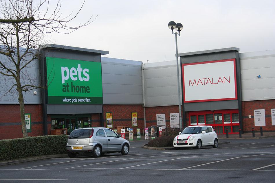 Malvern Retail Park New Building